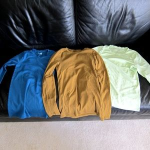 3 J Crew T-shirts Perfect Fit Fitted Tee Medium